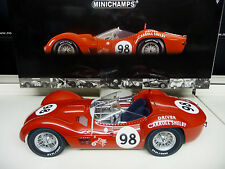 Minichamps 1:12 Maserati Tipo 61 Birdcage #98 Carol Shelby  SHIPPING FREE