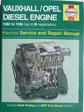 Vauxhall/Opel Diesel Engine Service and Repair Manual (Haynes Service and Repair