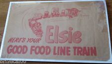 Elsie the Cow Borden's Good Food Line Train mint unpunched w/original envelope