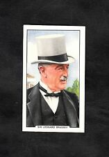 1938 Gallaher Ltd Cigarette Card Racing scene No26 Sir Leonard Brassey
