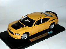 Welly 18003r-w, 2006 Dodge Charger Daytona R/T, Yellow, 1/18 embalaje original