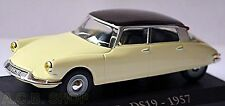 Citroen DS 19 - 1957 - 1955-68 - weiß white 1:43