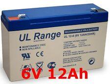 6V 12Ah Gel Batterie Kinderaut Auto Motorrad Notstrom Akku 6Volt 10Ah 9Ah 9,5Ah