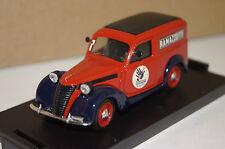 """Fiat 1100E Furgone """"Ramazzotti"""" 1950 rot  1:43 Brumm neu & OVP R284"""