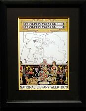 Peter Max Reading is for Everybody Vintage Fine Art Poster SUBMIT YOUR OFFER!