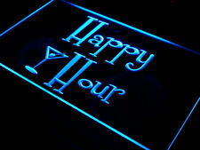 Happy Hour Our LED Enseigne lumineuse Publicité Bar Bistro