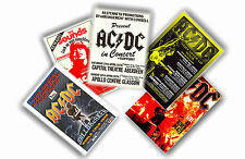AC/DC - SET OF 5 A4 POSTERS # 1