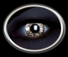 ZOE UV glow DIAMOND BLACK lentille de couleur lens contact halloween noire