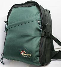 Lowepro Mini Trekker Classic Green SLR DSLR Camera Lens Bag Backpack - Nice!