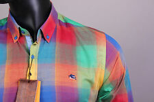 New Multi-Color Etro Casual Men's Shirt Size XL