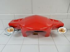 TAOTAO VIP 150CC SCOOTER FRONT HANDLE PLASTIC COMPLETE WITH TURN SIGNALS (RED)