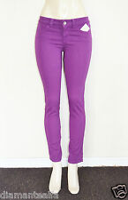 GUESS Women's Brittney Skinny Colored Jeans - Purple sz 23
