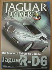 JAGUAR DRIVER MAGAZINE No 519 OCTOBER 2003 THE SHAPE OF THINGS TO COME R-D6