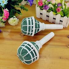 Bouquet Holder Handle Wet Fresh Dry Artificial Flowers Floral For Wedding Bridal
