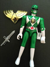 Power rangers mighty morphin green ranger loose action figure with accessories