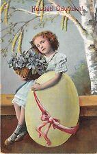 BC62069 husveti girl egg flower easter hungary