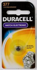 NEW! Duracell 377 Button Coin Battery Silver Oxide 1.5 v Watch Calculator