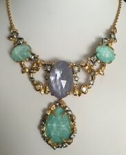 NWT Alexis Bittar Amazonite Multi-stone Statement Necklace $375.00