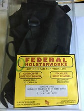 Federal Gun Shoulder Holster Size 10 Concept 2000 .22 auto ammo pouch
