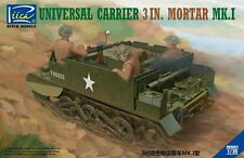 Riich Models RV35017 1/35 Universal Carrier 3 in. Mortar Mk.1