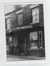 CLEVELAND HOTEL NORMANBY MIDDLESBROUGH TEESSIDE NORTH YORKSHIRE POSTCARD