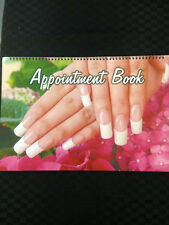 APPOINTMENT BOOK 100 Pages Beauty Hair Doctor Dentist Nails Podiatry Spa +