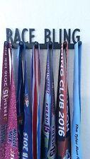 Race Bling Marathon medal display,rack/ holder,race, 26.2, 10K, Run, 5K,13.1