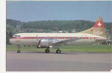 Tellair Convair 440 Aviation Postcard, B008