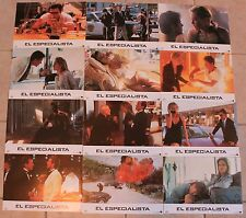 Sylvester Stallone Specialist lobby card set 12 Sharon Stone James Woods