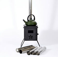 Outbacker® 'Firebox' Portable Wood Burning Tent Stove For Bell Tent -Free Carry