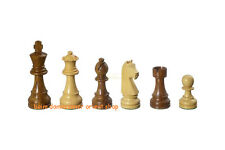 SUPER Holz Schachfiguren Arcadius Springer Handgeschnitzt  KH95 mm gewichtet NEU