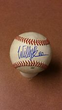 Will Benson in person autographed baseball on used Arizona league ball.seepics.