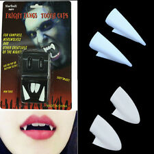 Dentures Zombie Vampire Teeth Ghost Devil Fangs Halloween Props Costume Party MW