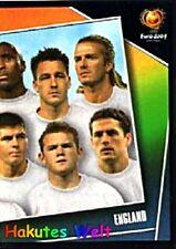 Panini EM 2004 Sticker Nr. 115 Team rechts England