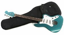 NEW Fender Classic Player Rascal Bass Guitar Rosewood OceanTurquoise + Gig Bag