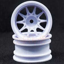 RIDE Mini 10 Spoke Wheel Wide Offset White M-Chassis EP 1:10 RC Cars #RH-1236W