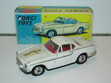VINTAGE CORGI TOYS 258 THE 'SAINTS' VOLVO P1800 WITH REPRO BOX 1960s METTOY