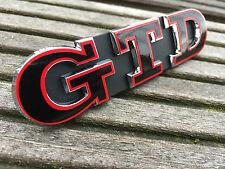 Polo 9N2 9N3 6R 6C GTD rot schwarz Emblem Schriftzug Kühlergrill Wabengrill