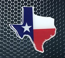 """Texas Flag Sticker Proud LONE STAR STATE Domed Decal Emblem Car Sticker 3D 3.25"""""""