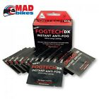 FogTech DX Anti-Fog solution for motorcycle visors 10 PACK