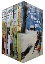 Little House on the Prairie Series 7 Books Set Collection Laura Ingalls Wilder