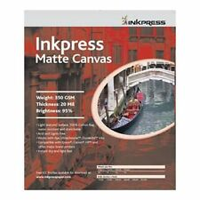 "Inkpress Canvas Matte Matte Art Inkjet Photo Paper 24""x35' Roll ACW2435TO"