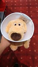 Disney Parks Dug Cone of Shame Plush Toy Dog Puppy Doug Pixar UP