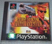 Duke Nukem: Time To Kill, Good Condition PlayStation, Playstation Video Games