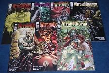WITCH DOCTOR mal practice #1 2 3 4 5 6 + 1 variant iMAGE COMIC 1st print set (7)