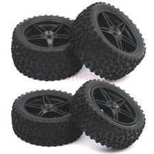 RC 1:10 Off-Road Buggy Car Front & Rear Rubber Tyres Tires Wheel Rim 66005-66025