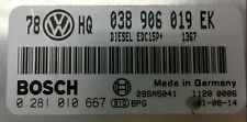 TUNED !!! VW PASSAT ECU 1.9TDI 101 AVB 038906019EK IMMO OFF PLUG&PLAY