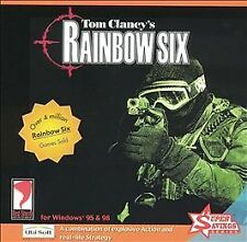 Rainbow Six (Jewel Case) - PC, Good Windows 95, Windows 98, Pc Video Games