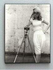 Rare Framed Blondie Debbie Deborah Harry 1975 Vintage Photo. Giclée Print