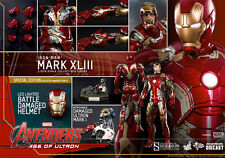 Hot Toys IRON MAN MARK XLIII 43 Avengers Age of Ultron 1/6 DIECAST EXCLUSIVE